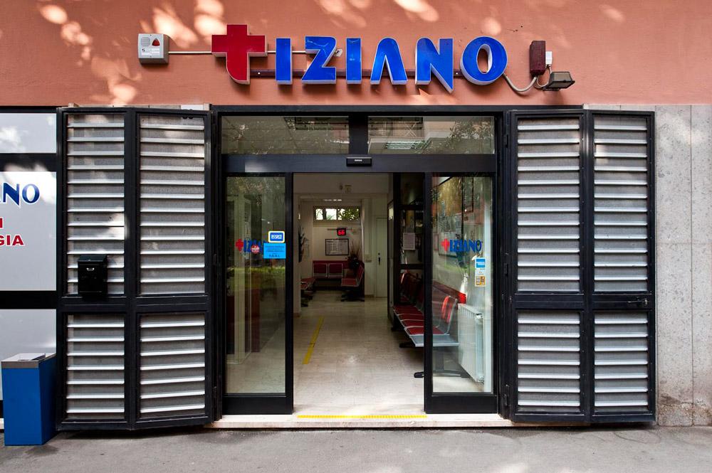 Ingresso Centro Medico Tiziano