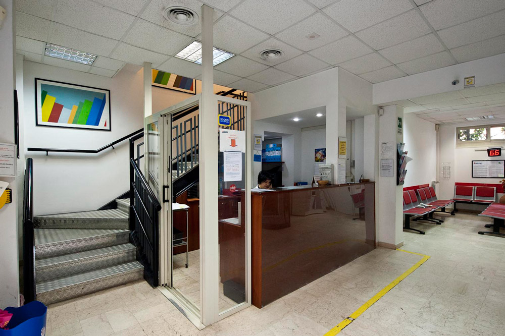 Reception Centro Medico Tiziano