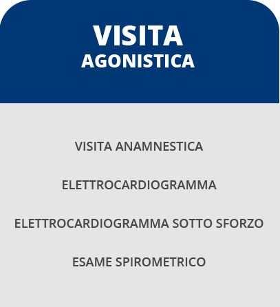 Certificato medico agonistico roma